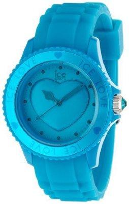 [永達利鐘錶 ] ICE watch 藍色愛心限定橡膠女錶LO.FB.U.S.11原廠公司保固24個月42mm