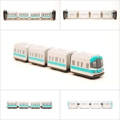 【喵喵模型坊】TOUCH RAIL 鐵支路 Q版 高雄捷運小列車 (QV012T1)