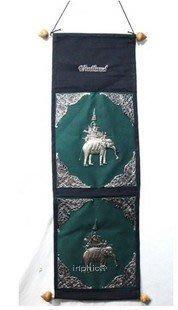 INPHIC-東南亞 家居裝飾品 泰絲小象 布掛 掛毯 泰國工藝品大象