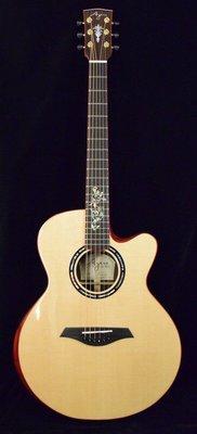 【成功樂器】Ayers Passion Deluxe 20週年紀念 全單板 木吉他/民謠吉他 含原廠硬盒