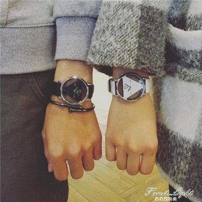 ☜男神閣☞情侶手錶個性中性休閒復古歐美流情侶
