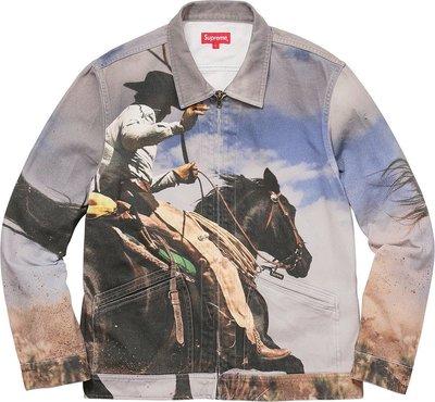 Supreme cowboy牛仔外套