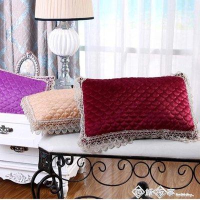 禾譜美容院專用枕頭花邊枕芯小方枕美容美體按摩床枕芯可拆洗【宜家元素馆】
