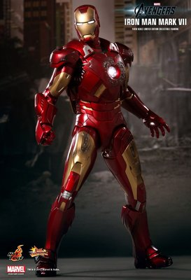 全新未開封 Hottoys 復仇者聯盟 Avengers Ironman 鐵甲奇俠 MARK VII 7 MMS185 Hot Toys Marvel