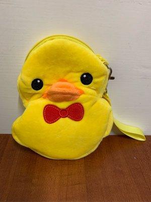 [現貨]黃色絨毛小鴨 零錢包 黃色小鴨