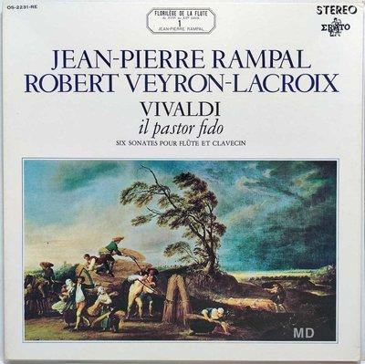 黑膠唱片 Jean Pierre Rampal, Lacroix - Vivaldi il pastor fido