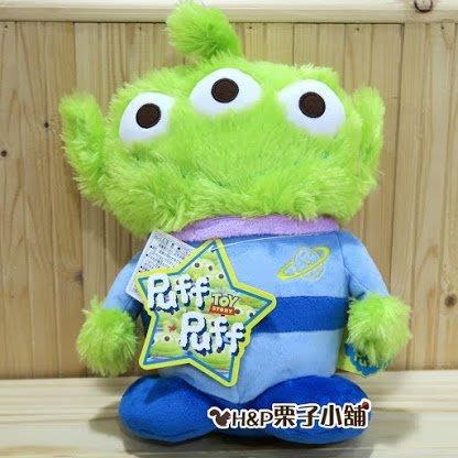 [H&P栗子小舖]東京迪士尼海洋限定 玩具總動員 三眼仔 三眼怪 絨毛玩偶 生日禮物 交換禮物 PUFF 軟毛毛三眼怪
