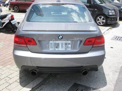 ~~ADT.車燈.車材~~ BMW E92 E93 M-TECH 式樣 PP後保桿一組10000
