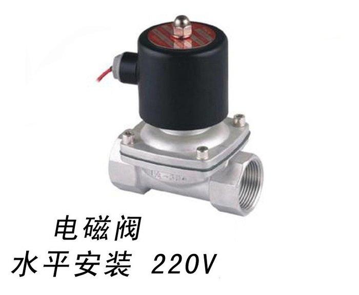 SX千貨鋪-2W不銹鋼電磁閥 液態電磁閥只能走80度以下的水#優質材質 #做工精緻 #價格實惠