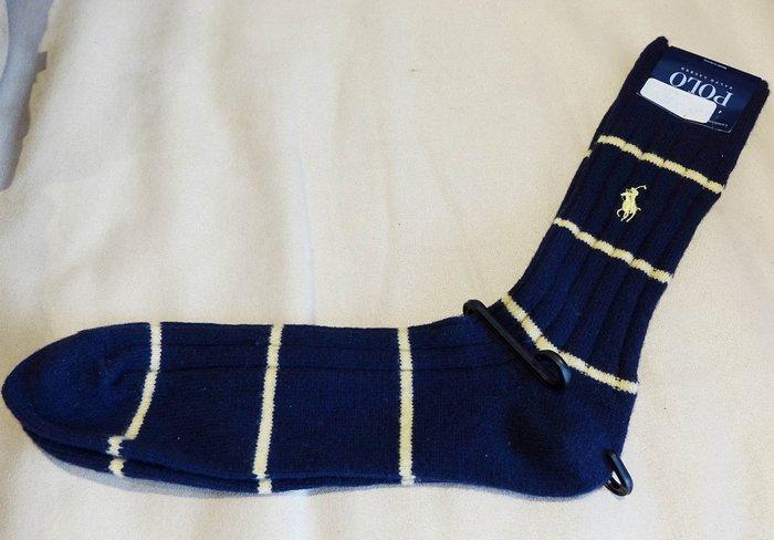 大降價!全新美國名牌 Polo Jeans Ralph Lauren 男仕毛襪襪子中筒襪,低價起標無底價!本商品免運費!