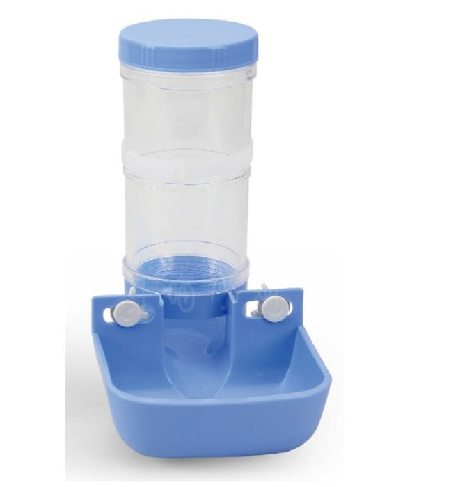 ☆汪喵小舖2店☆ 皇冠寵物籠適用自動餵食盒 鎖籠式自動餵食器