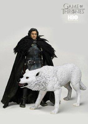 JAMES ROMM# HBO 3A threezero 1/6 冰與火之歌權力的遊戲瓊恩·雪諾 Jon Snow