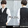 【Men Star】免運費  韓版情侶西裝背心 酒店黑色背心 酒店西裝背心 媲美 stage uniqlo a&f ck