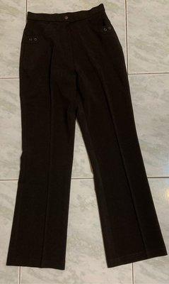 底2~出清~咖啡色西裝長褲 長褲 彈性長褲 定價1980