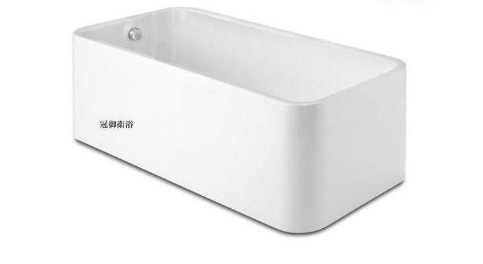 獨立浴缸 古典浴缸 復古浴缸 壓克力浴缸150*78*58 cm