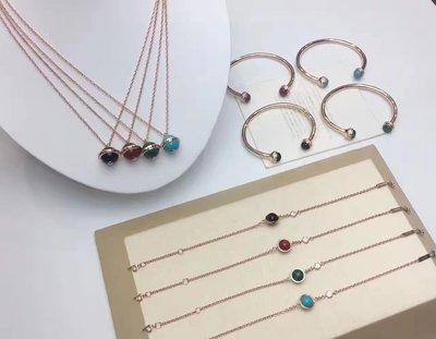 Piaget 伯爵 Possession 系列 同款 925純銀 短項鏈 長項鏈 鑲鑽 寶石 項鏈 多款可選 免郵 A1