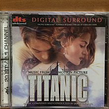 CD Titanic James Horner O.S.T. (US) DTS Digital Surround 全新未拆 (100% Brand New)