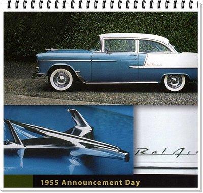 西風(((1955年  Chevrolet 雪佛蘭 古董車標)))