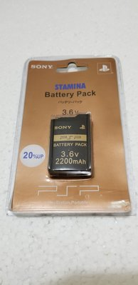 SONY PSP Battery pack 厚身電池 全新未開封品 2005 made in Japan 原装sony