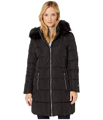 ✈美人魚的秘密✈美國代購 正品 TOMMY- 9283236女性長版外套 白色藍色紅色 連帽外套 防風衣 保暖 羽絨外套