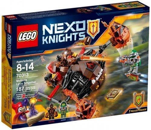 現貨【LEGO 樂高】全新正品 益智玩具 積木/ 未來騎士團: 魔爾特的熔岩粉碎機 NEXO KINGHTS 70313