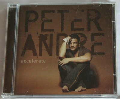 Peter Andre  Accelerate  歐版 CD