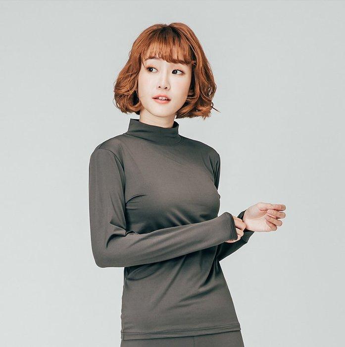【極致舒適保暖衣】超舒適女立領內搭共八色,輕薄材質富彈性,內裏刷毛,勝發熱衣、衛生衣