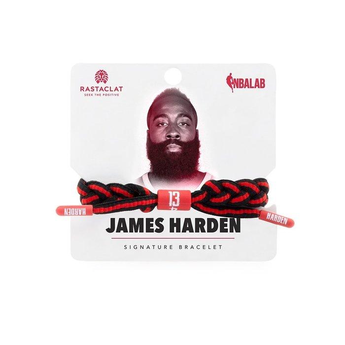 【Brand T】RASTACLAT NBA JAMES HARDEN 哈登*火箭隊*球星*鞋帶*手環*雷獅特*衝浪