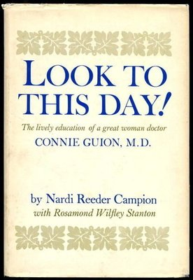 【語宸書店G22C/古書善本】《LOOK TO THIS DAY!》Nardi Reeder Campion