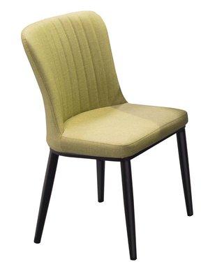 【宏興HOME BRISK 】里奇餐椅(綠皮)。XU新品20