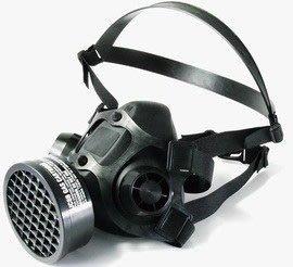 WIN 五金 台灣製單罐式防毒面具(面罩) 防毒口罩ce認證呼吸防護系列噴漆面罩~~