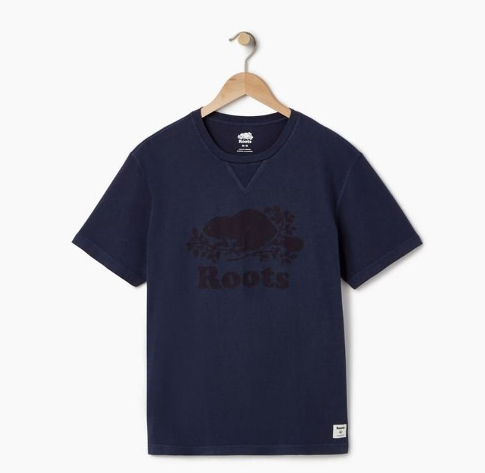 ~☆.•°莎莎~*~~☆~加拿大 ROOTS Mens Sun-oka Cooper T-shirt  棉T
