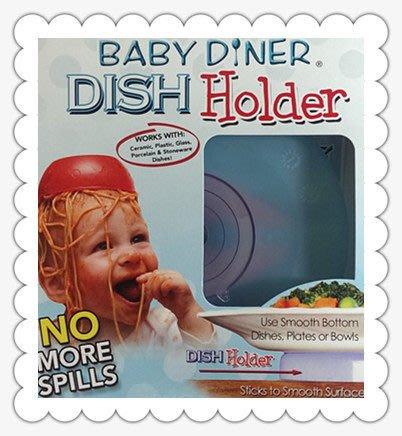 【DEAR BABY】美國Baby diner-dish holder 嬰兒用餐吸盤架