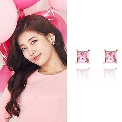 【韓Lin連線代購】韓國 GET ME BLIN - 秀智同款方形耳環 JUST BUY IT_SQUARE