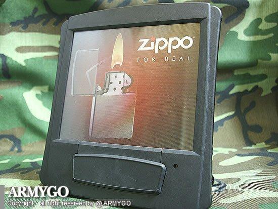 【ARMYGO】ZIPPO 3D電動動態桌上看版
