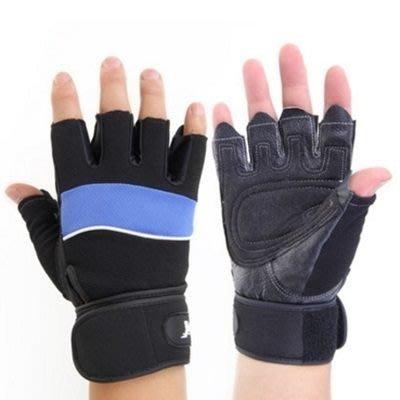 運動手套 健身手套 護腕手套 半指手套-掌心加厚透氣耐磨男手套3色71w9[獨家進口][米蘭精品]