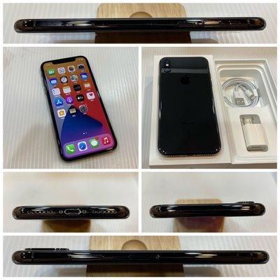 二手機 APPLE iPhone X 256G IX 黑色 5.8吋 IOS 14.4【歡迎舊機折抵交換】283