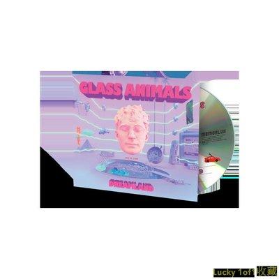 Lucky 1of1收藏簽名版 Glass Animals Dreamland CD+簽名歌詞本