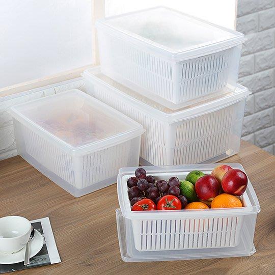 【無敵餐具】名廚瀝水保鮮盒LM02(345x235x150mm/8.9L) 【BT012】