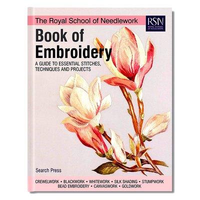 The Royal School of Needlework Book of Embroidery 皇家刺繡學校  刺繡技術教程 刺繡針法項目來源 英文原版