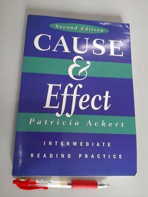 英文閱讀理解、字彙練習 Cause & Effect: Intermediate Reading Practice 中級程度、293頁(全新 未使用)