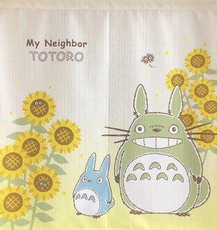 現貨不必等 送舊迎新 新生活 日本製 中門簾 短門簾 向日葵 龍貓  居家裝飾 C