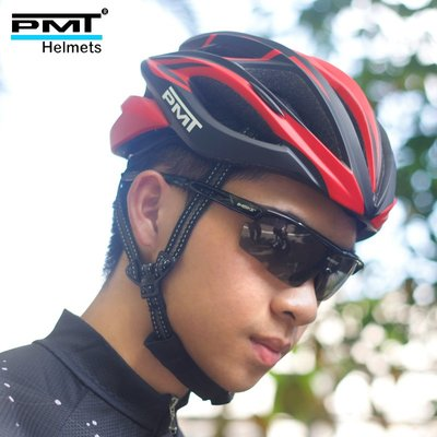 自行車安全帽PMT 透氣騎行頭盔男女一體代駕公路山地車自行車安全帽子單車裝備