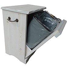 *Vesta 維斯塔*西班牙鄉村風~復古白垃圾櫃/邊櫃