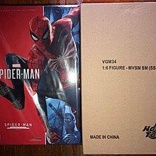 Hottoys 會場版 PS4 spiderman  兩款 VGM31 VGM33