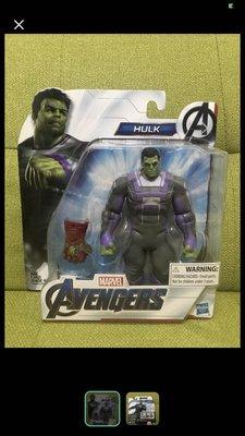 Hasbro 孩之寶 marvel legends avengers endgame hulk 綠巨人 有手套