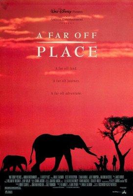 幻象大獵殺-A Far Off Place(1993)原版電影海報