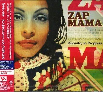 K - ZAP MAMA - ANCESTRY IN PROGRESS - 日版 +1BONUS - NEW