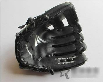 【棒球手套-左手-9.5英寸-PVC皮-1個/組】適合4-9歲小朋友兒童棒球手套練習棒球手套環保小手套-56005