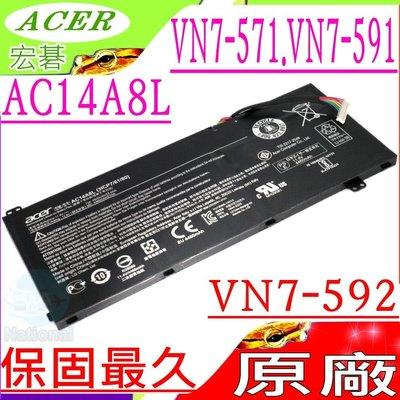 ACER電池(原廠)-宏碁 AC14A8L,VN7-591G,VN7-592G,VX 15,VX5-591G 台中市